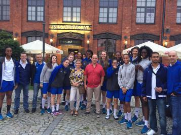 Dernière photo des U18 en Pologne