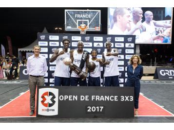 L'Amiral Camp vainqueur de l'Open de France 2017