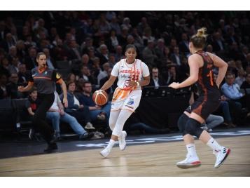 Lewis et les Flammes Carolo rejoignent Bourges en finale de la Coupe de France féminine