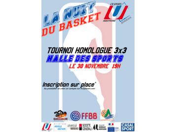 La nuit du Basket Universitaire à Talence