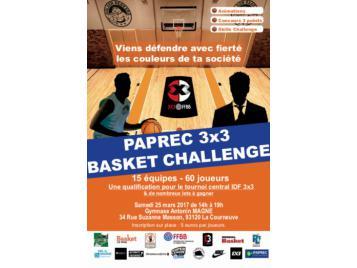 PAPREC BASKET CHALLENGE 3x3