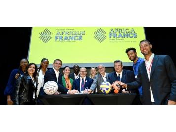 La FFBB était présente à Montpellier vendredi lors du nouveau sommet Afrique France