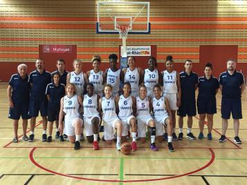 Equipe de france U15 féminine à Mulhouse