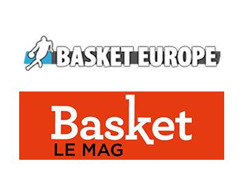 logo basket Europe et basket le Mag