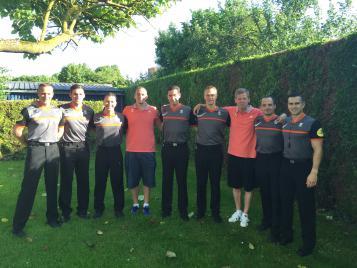 Sept arbitres de Pro A réunis en stage à Troyes