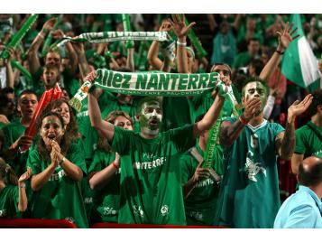 Supporters de Nanterre à Bercy en 2007