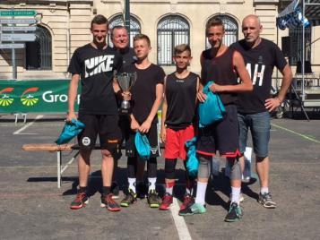L'équipe vainqueur du tournoi de Vesoul