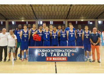 Les U18 masculins ont remporté le tournoi de Tarare