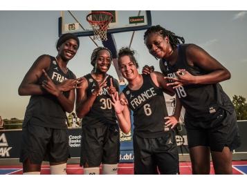 cfb73ea1249 L Equipe de France 3x3 U23 remporte deux nouvelles étapes de la Nations  League - Photo FIBA