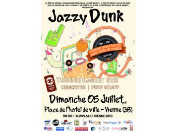 Affiche Jazzy Dunk