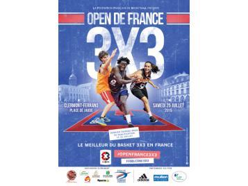 Affiche Open de France 2015