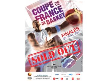 Affiche finale Coupe de France Sold Out