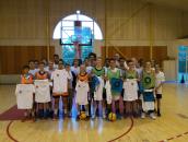 les participants au premier tournoi 3X3 de la Ligue Aquitaine