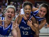 Iliana Rupert, Zoé Wadooux et Marine Fauthoux