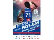 Affiche match France - Pays-Bas