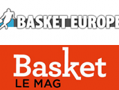 logo basket Europe et basket le Mag