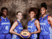 L'équipe de France féminine U18