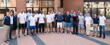 """Les stagiaires à Toulouse pour un module de formation dont le thème était """"la période de reprise"""""""