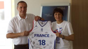 Paul Merliot et Valérie Garnier