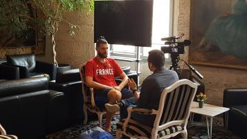 Antoine Diot en interview
