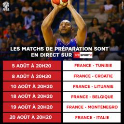 Programme des matches sur SFR Sport