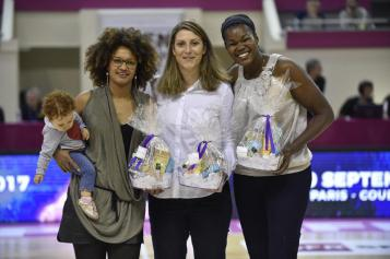 Yacine Sene, Aurélie Bonnan et Sandra Dijon