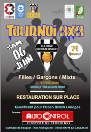 Tournoi 3X3 Brive