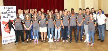 Les arbitres du bas-Rhin diplômés