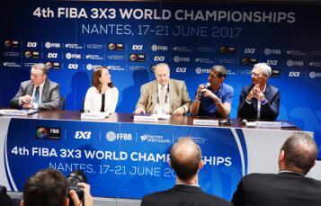 Conférence de presse d'annonce de l'organisation du Mondial 3X3 2017