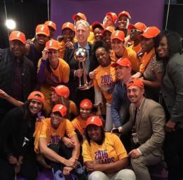 Les Sparks de Sandrine Gruda championnes WNBA