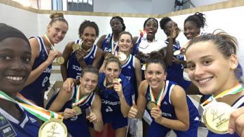 Les A' vainqueurs des Jeux de la Francophonie