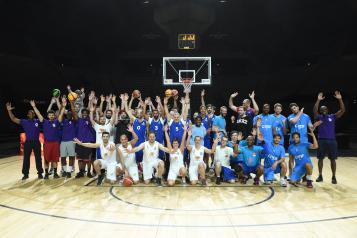 Participants au tournoi VIP