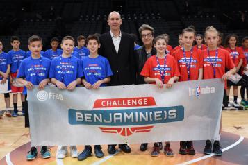 Les vainqueurs du Challenge Benjamin(e)s