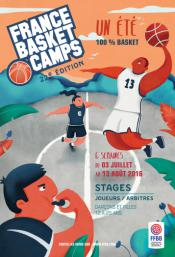 Affiche France Basket Camps