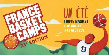 visuel France Basket Camps