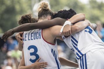 L'Equipe de France féminine 3X3