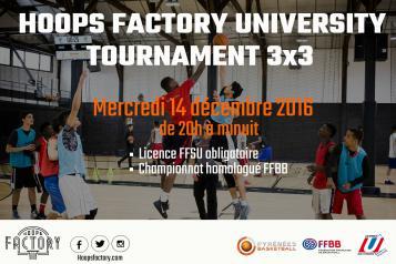Hoops Factory University Basket 3X3