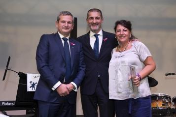 Jean-Pierre Hunckler, Jean-Pierre Siutat et Cathy Giscou
