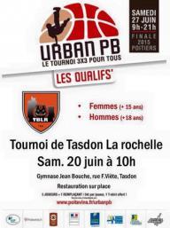 Affiche Tournoi Tasdon La Rochelle