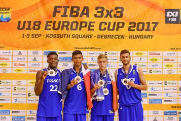 Equipe de France U18 masculins