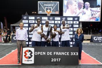 L'Amiral Camp vainqueur de l'Open de France 2017
