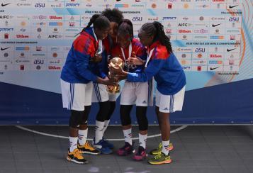 Championnes du Monde 3X3 U18 2016