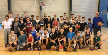 Les jeunes Arbitres Clubs avec Johann JEANNEAU