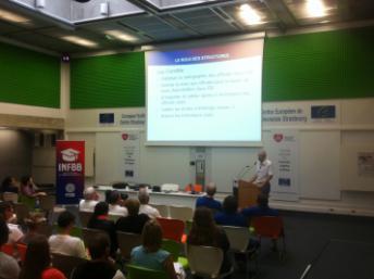Thierry Balestrière lors de son intervention au Campus FFBB