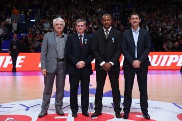 Alain Béral, Jean-Pierre Hunckler, Eddie Viator et Jean-Pierre Siutat
