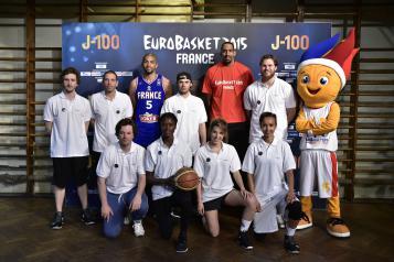 La team ambassadeurs #EuroBasket20015