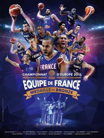 Affiche Equipe de France