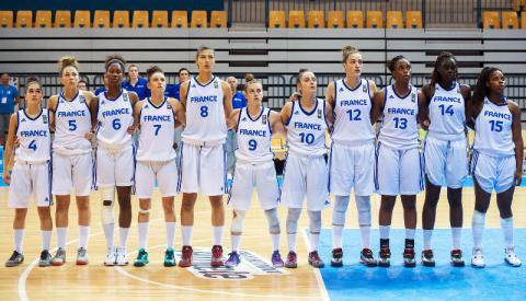 Equipe De France U18 Feminine Programme Campagne 2015 Ffbb