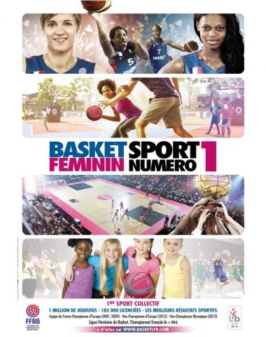 Basket féminin, sport numéro 1