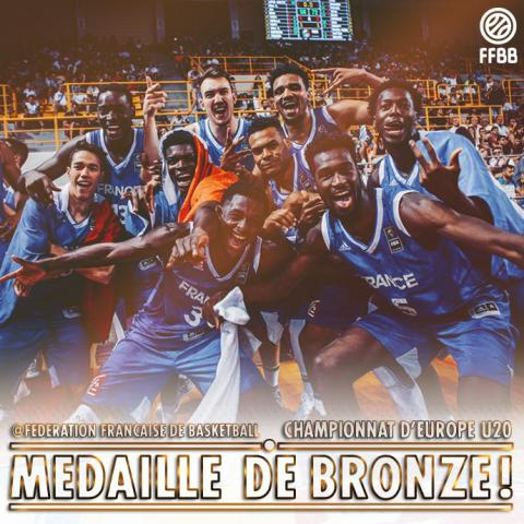 médaille de bronze U20